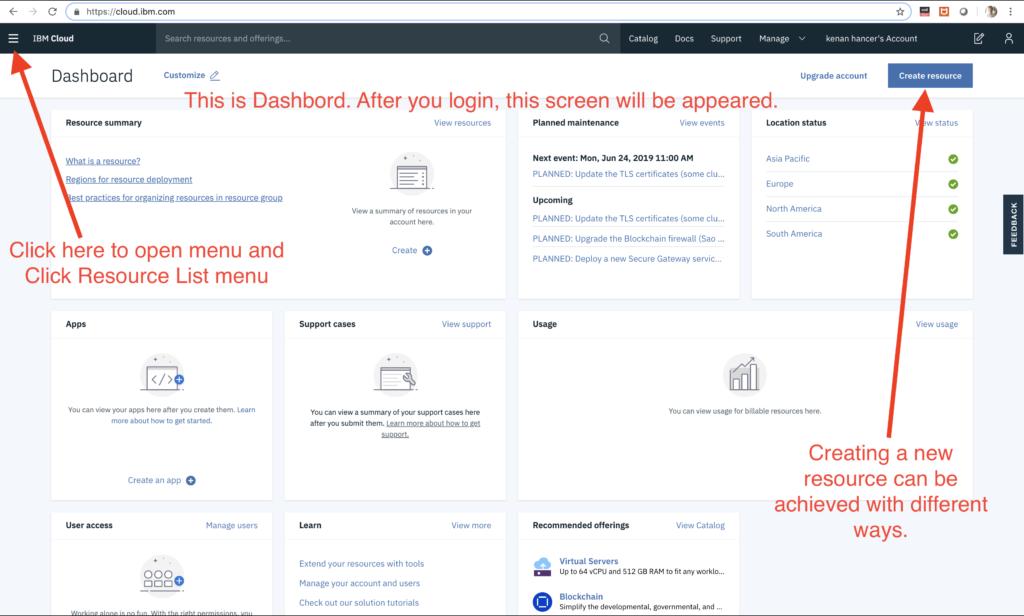 IBM Cloud    Kenan Hançer Blog
